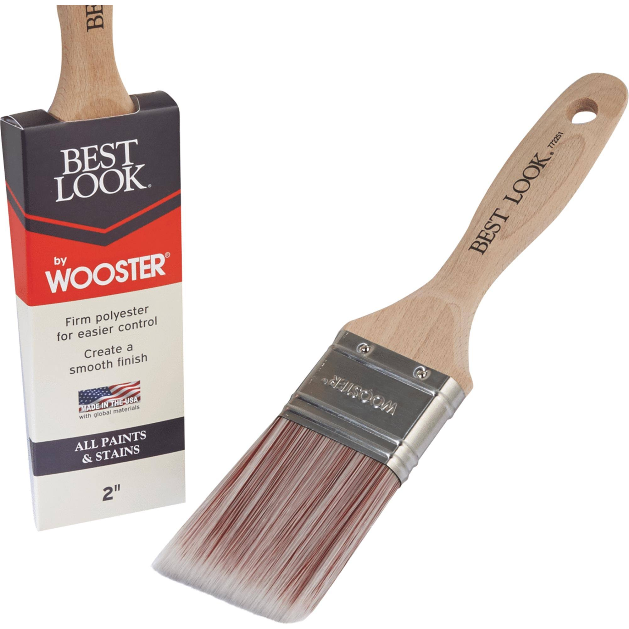 Best Look by Wooster Polyester Paint Brush - D4024-2