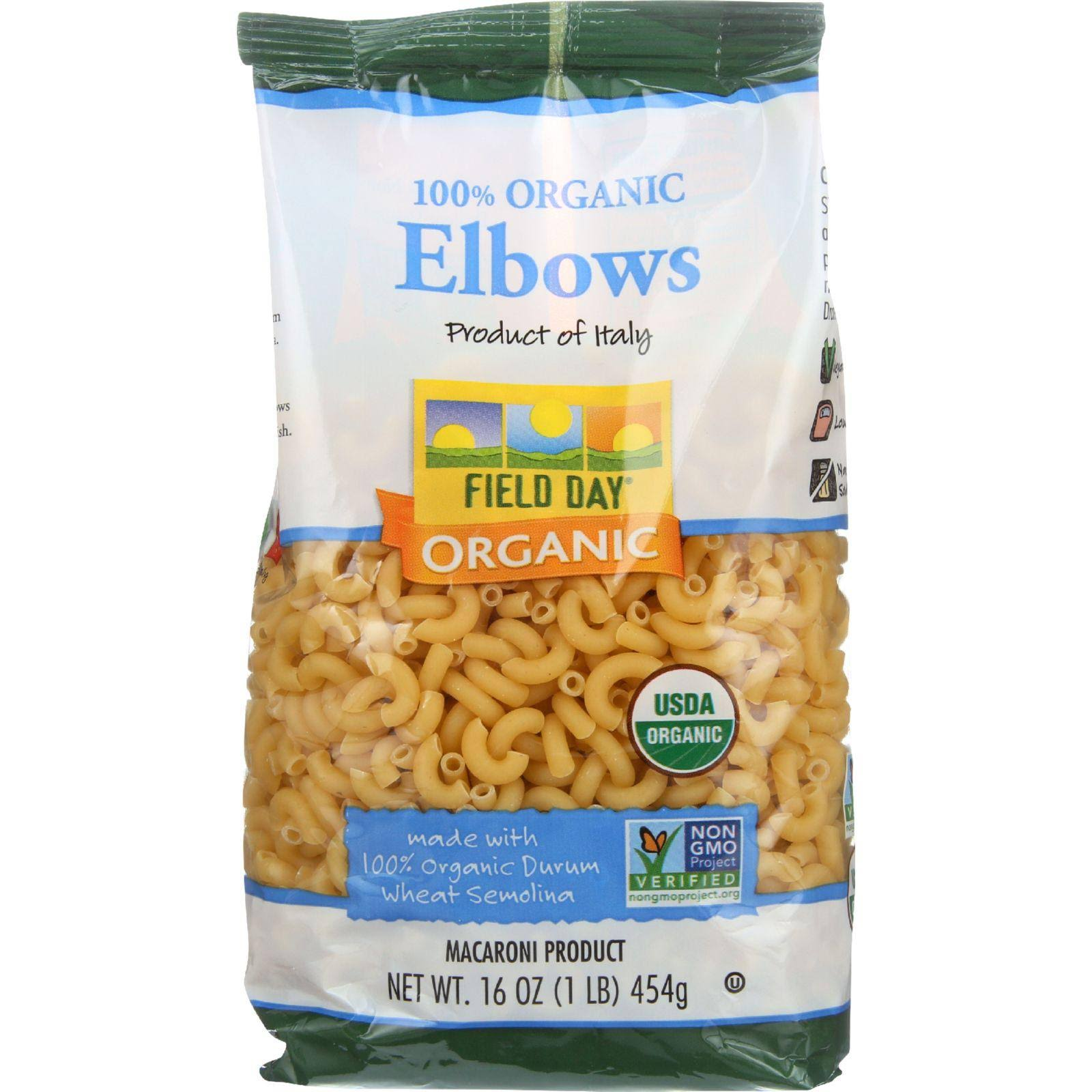 Field Day Elbow Macaroni Pasta