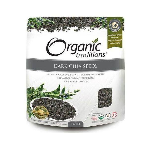 Organic Traditions Organic Dark Chia Seeds