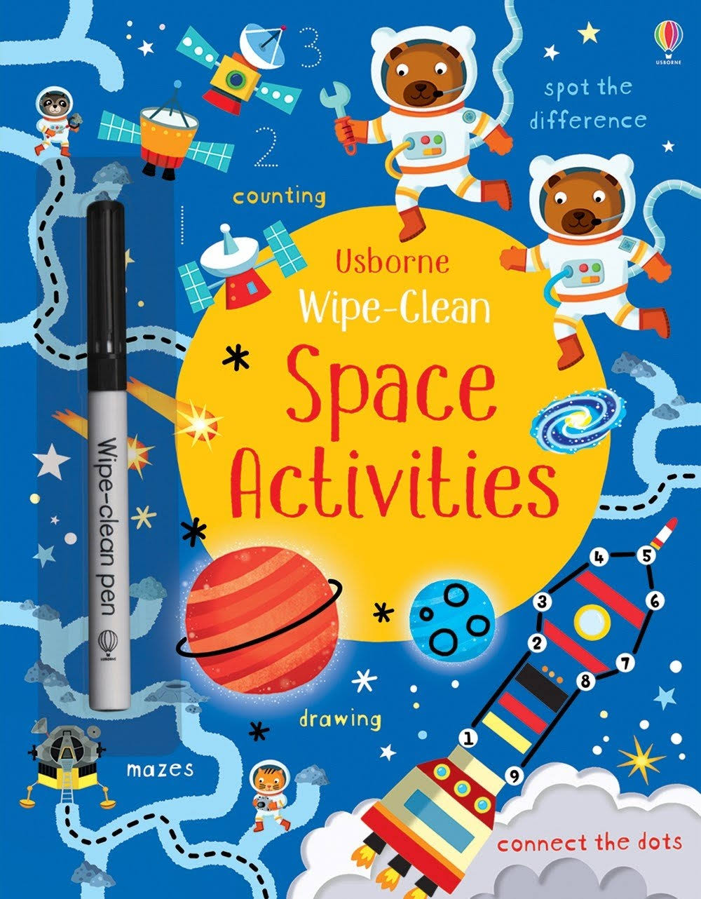 Wipe-Clean Space Activities [Book]
