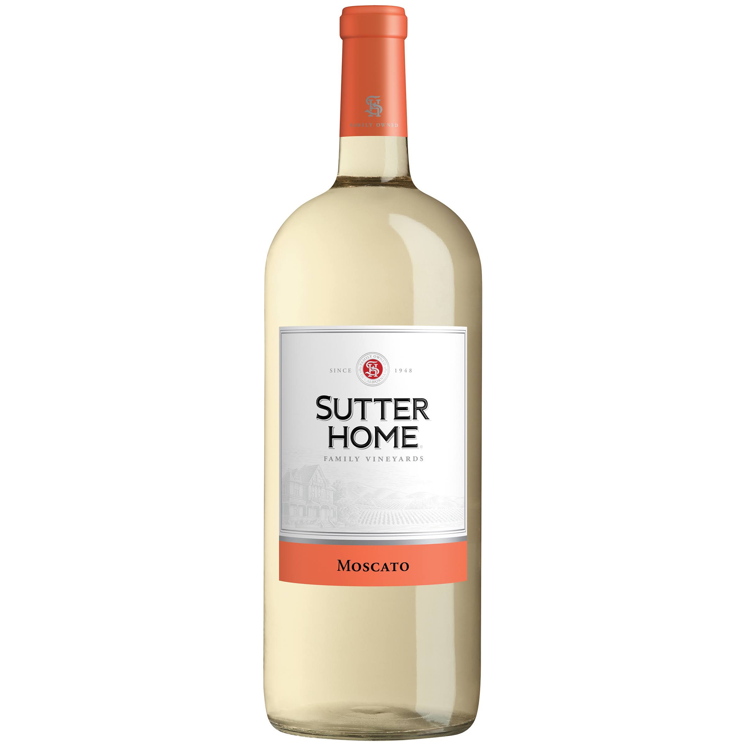 Sutter Home Family Vineyards Moscato, California - 1.5 lt