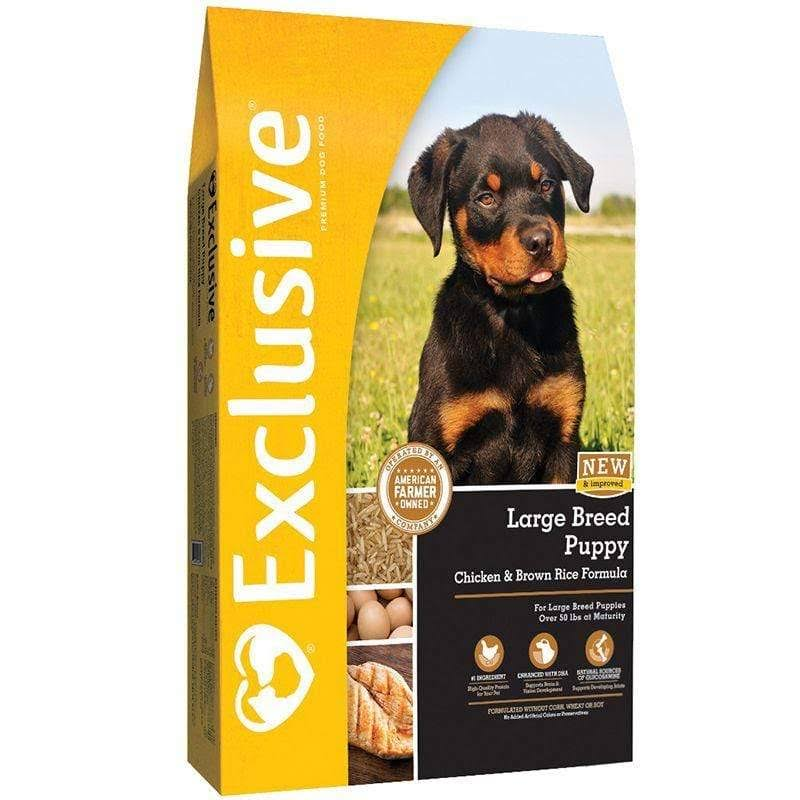 Exclusive Large Breed Puppy Chicken Brown Rice - 3003115-720