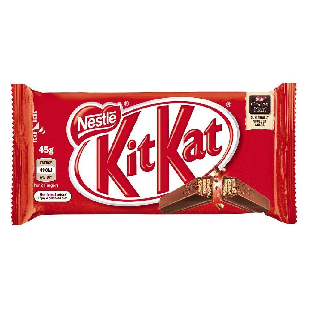 Nestle Kit Kat 4 Finger Chocolate Wafer - 45g