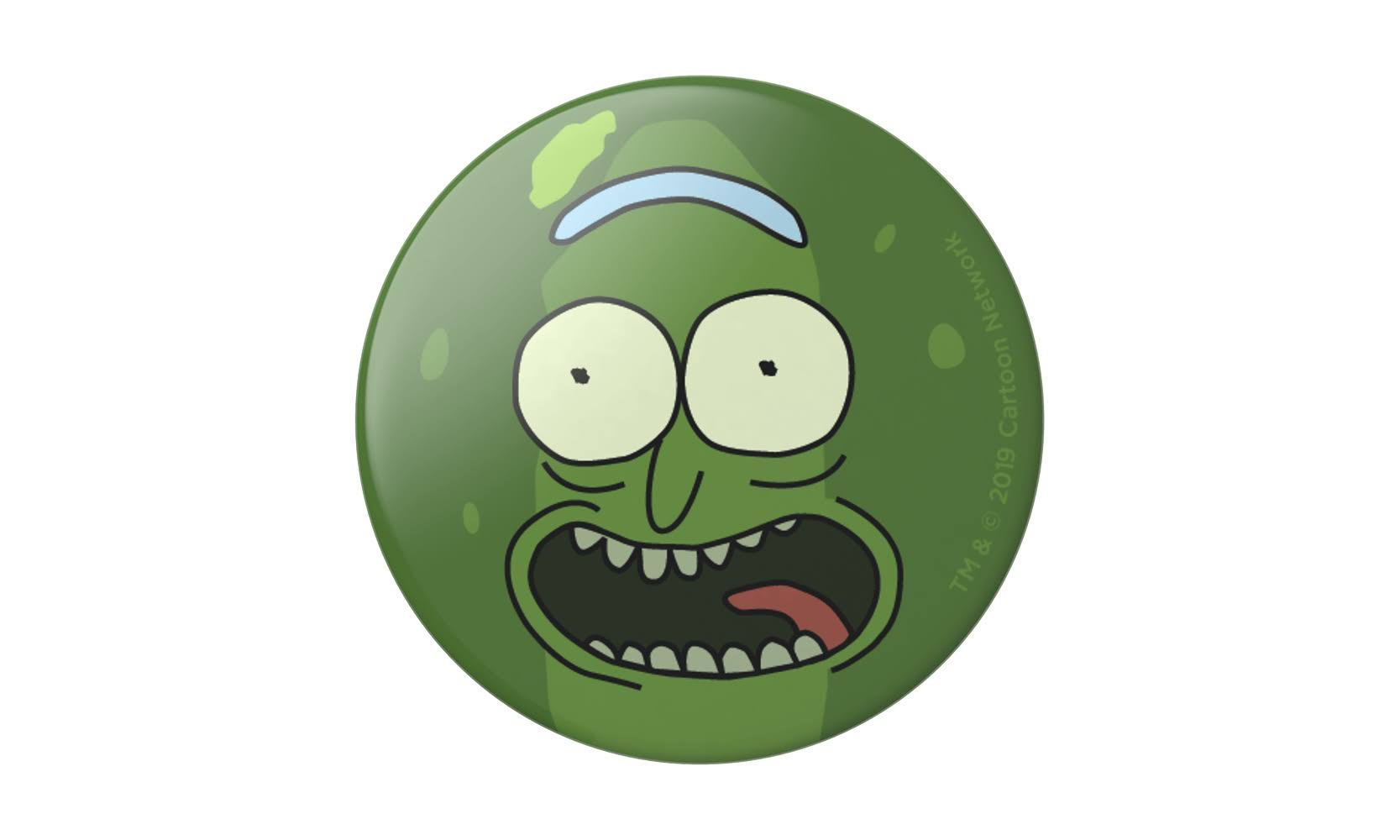 PopSockets Pickle Rick Swappable Phone Grip