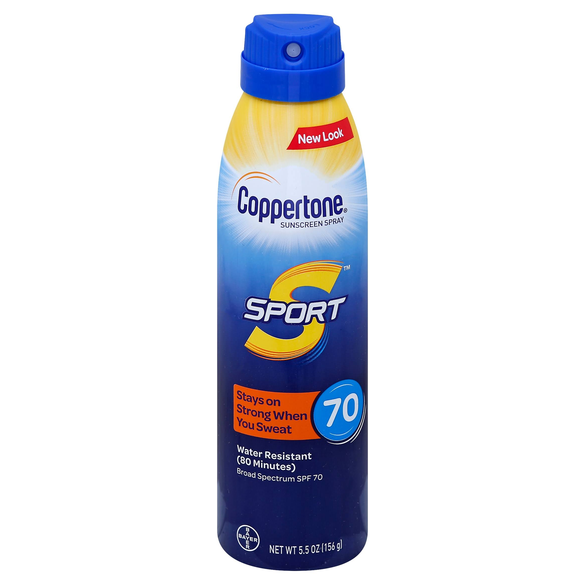 Coppertone Sport C Sunscreen Spray - SPF 70, 5.5oz