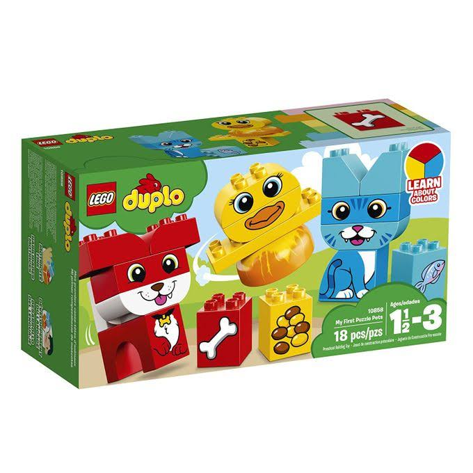 Lego Duplo 10858 My First My First Puzzle Pets