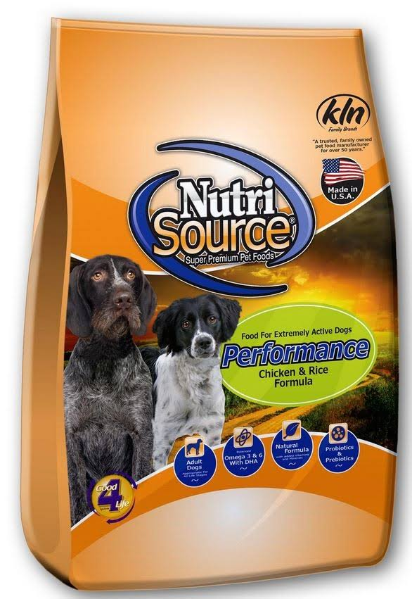 Tuffy's Pet Food Nutrisource Performance Dry Dog Food - 40lb