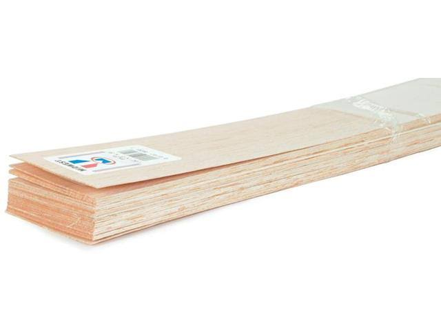 "Midwest Products Balsa Wood Sheet 36""-1/2""X3"""