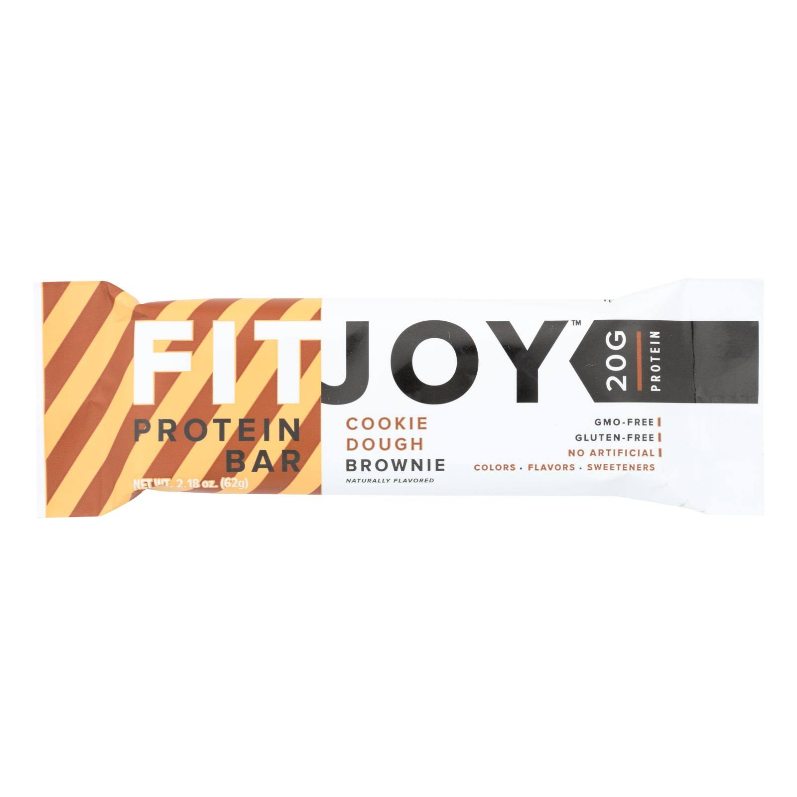 FitJoy Protein Bar, Cookie Dough Brownie - 2.18 oz