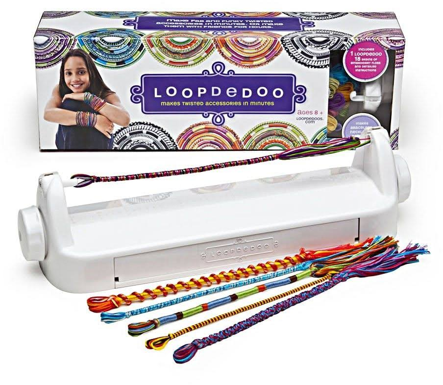 Loopdedoo Spinning Loom Kit - Friendship Bracelet