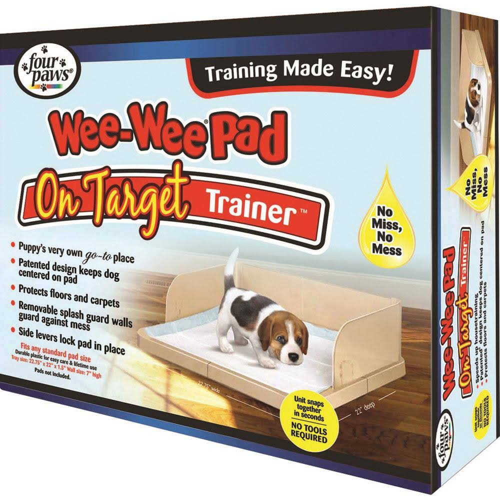 Four Paws Wee Wee on Target Trainer Pad Holder