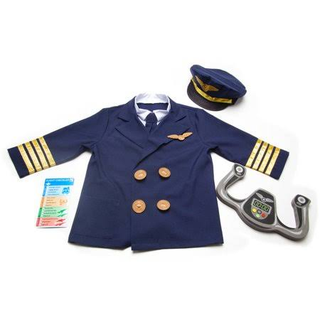 Melissa & Doug Pilot Costume Role Play Set