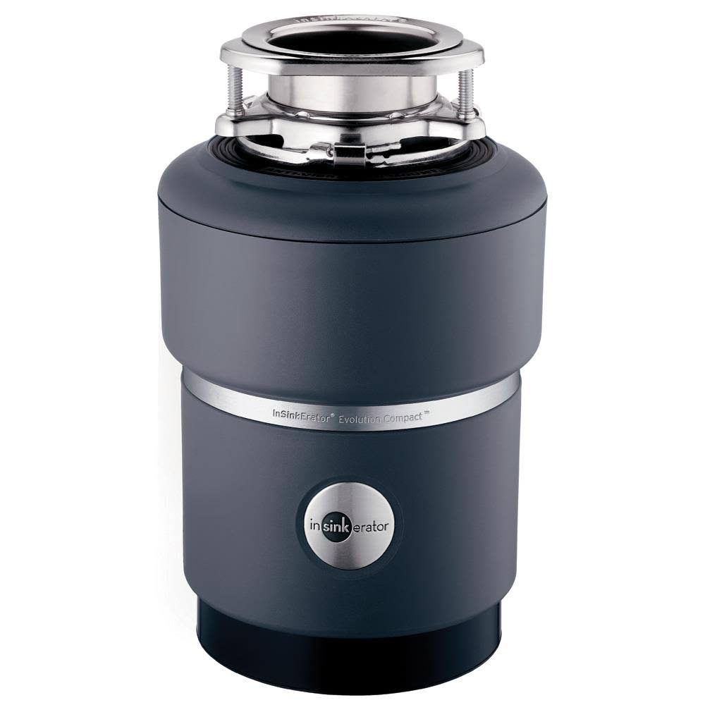 InSinkErator Evolution Compact Household Garbage Disposer - Grey, 3/4 HP