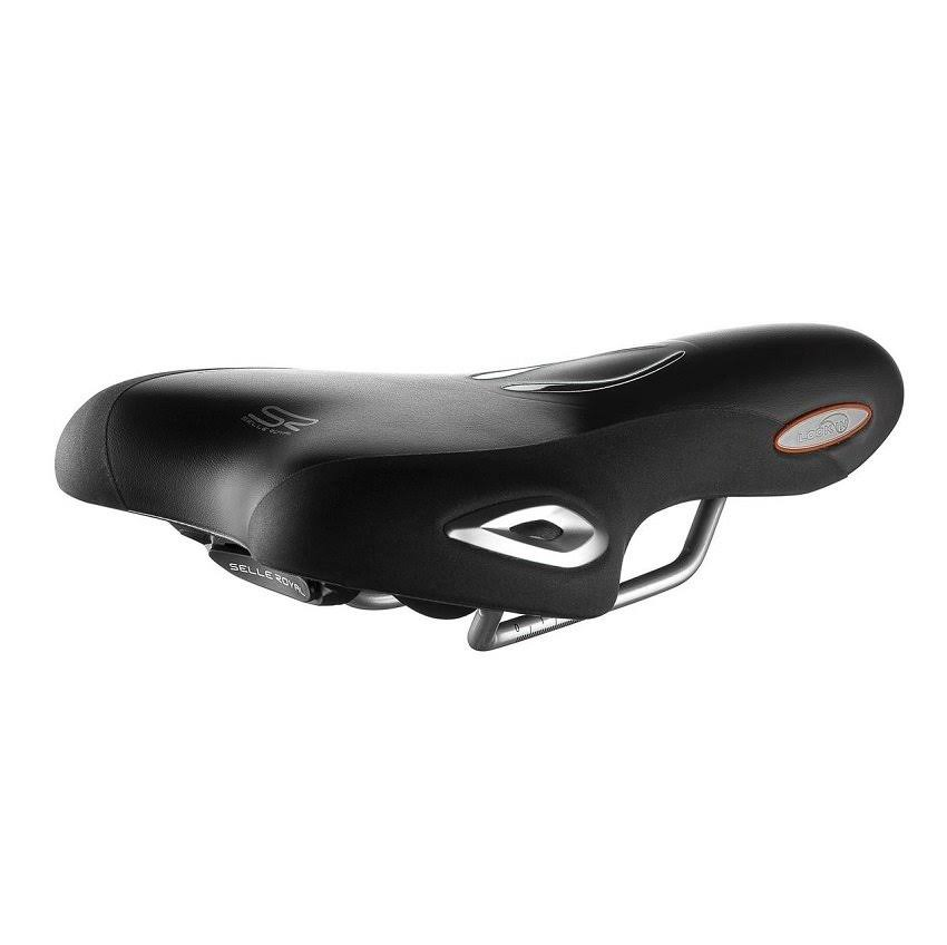 Selle Royal Lookin Athletic Cool Xsenium Bicycle Saddle - Black