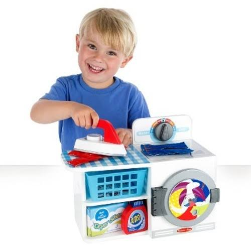 Melissa & Doug Let's Play House! Wash, Dry & Iron Playset