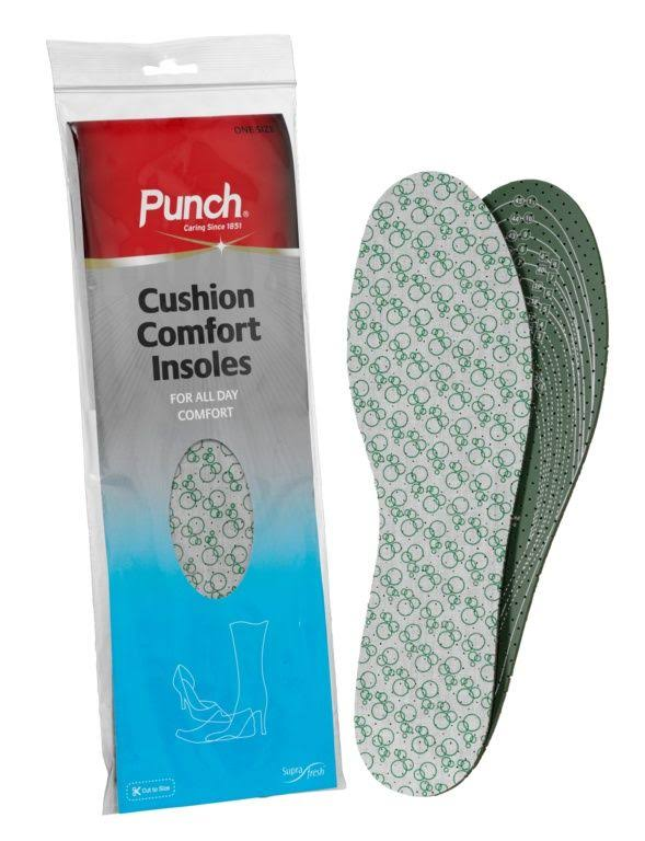 Punch Cushion Comfort Insoles One Size