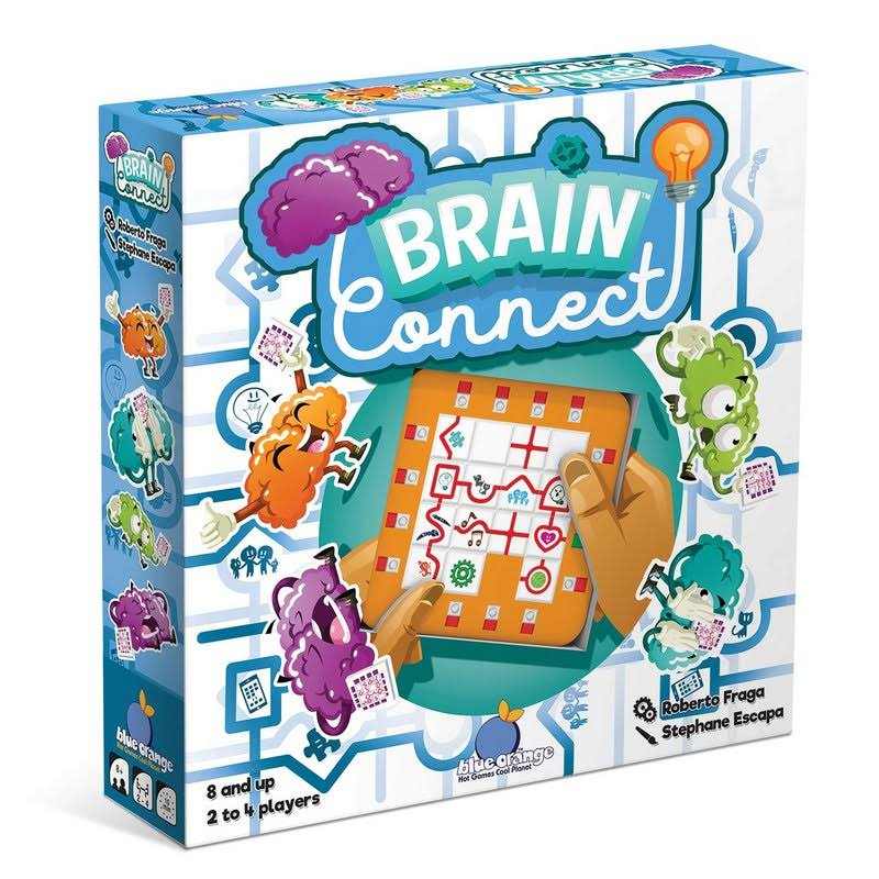Blue Orange Games Brain Connect Educational Strategy Board Game