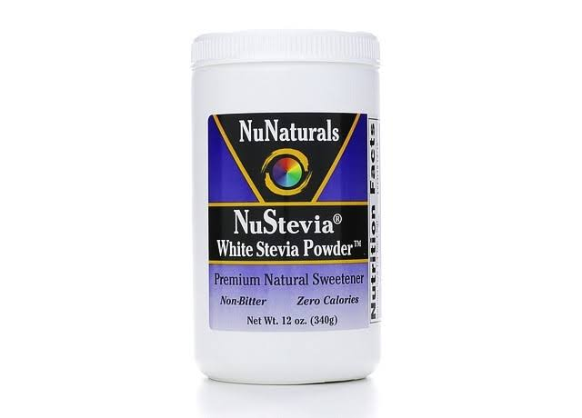 Nunaturals Nustevia White Stevia Powder - 340g