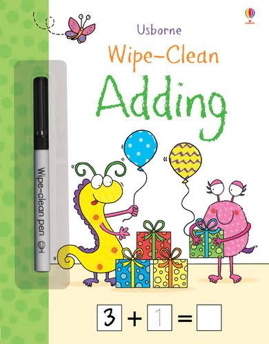 Wipe-Clean Adding [Book]