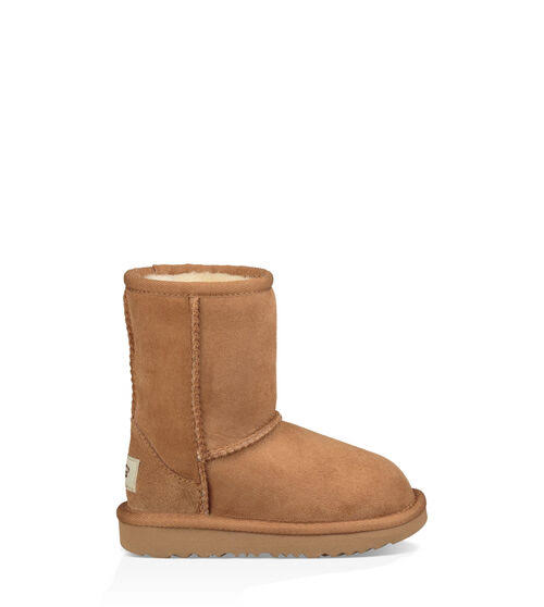 UGG Unisex Infant Classic II Toddlers Boots - 8 M, Chestnut