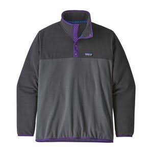 Patagonia Men's Micro D Snap T Fleece Pullover - Forge Gray, Small