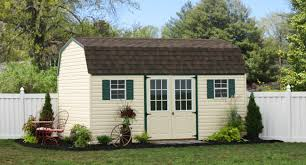 12x20 Storage Shed Kits by Outdoor Vinyl Sided Storage Sheds Maintenance Free