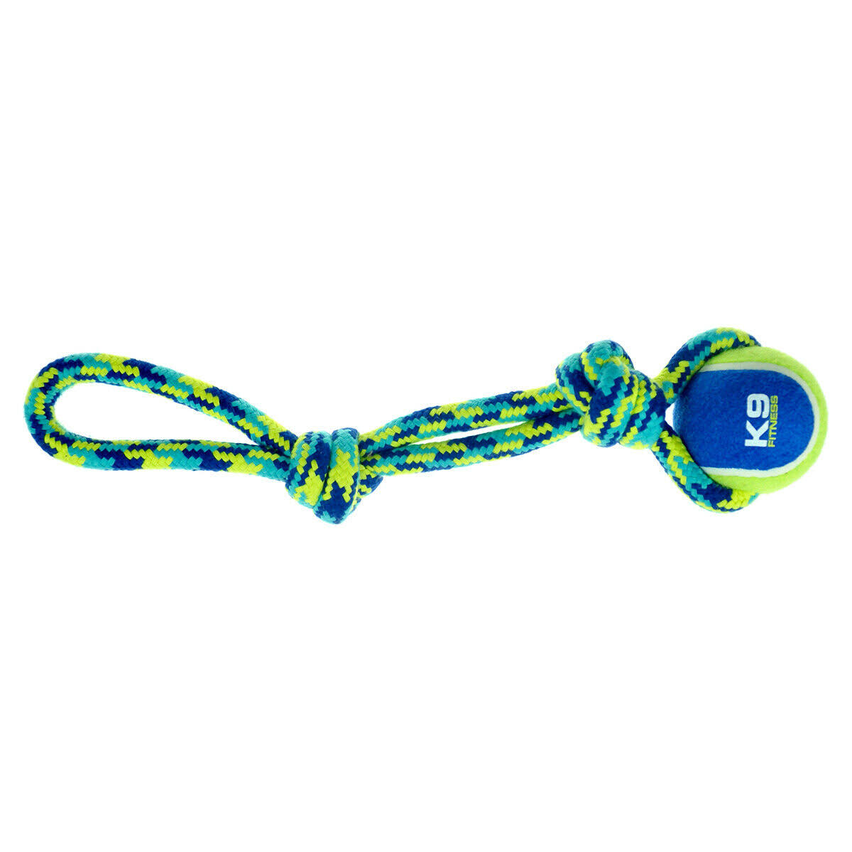 K9 Fitness Tennis Ball & Rope Tug Dog Toy - from £5.39