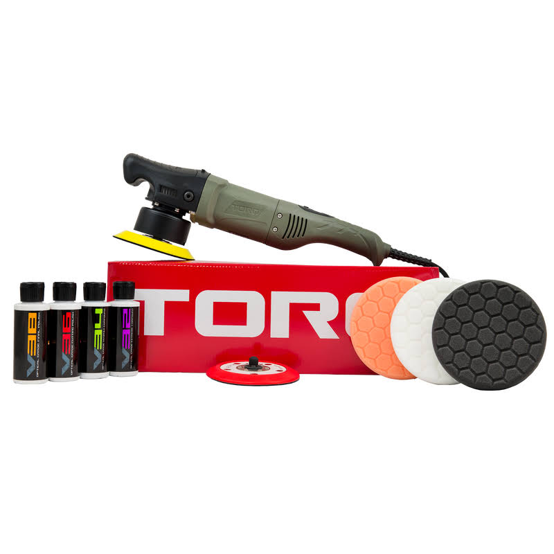 Torq Buf501x 10FX Random Orbital Polisher Kit