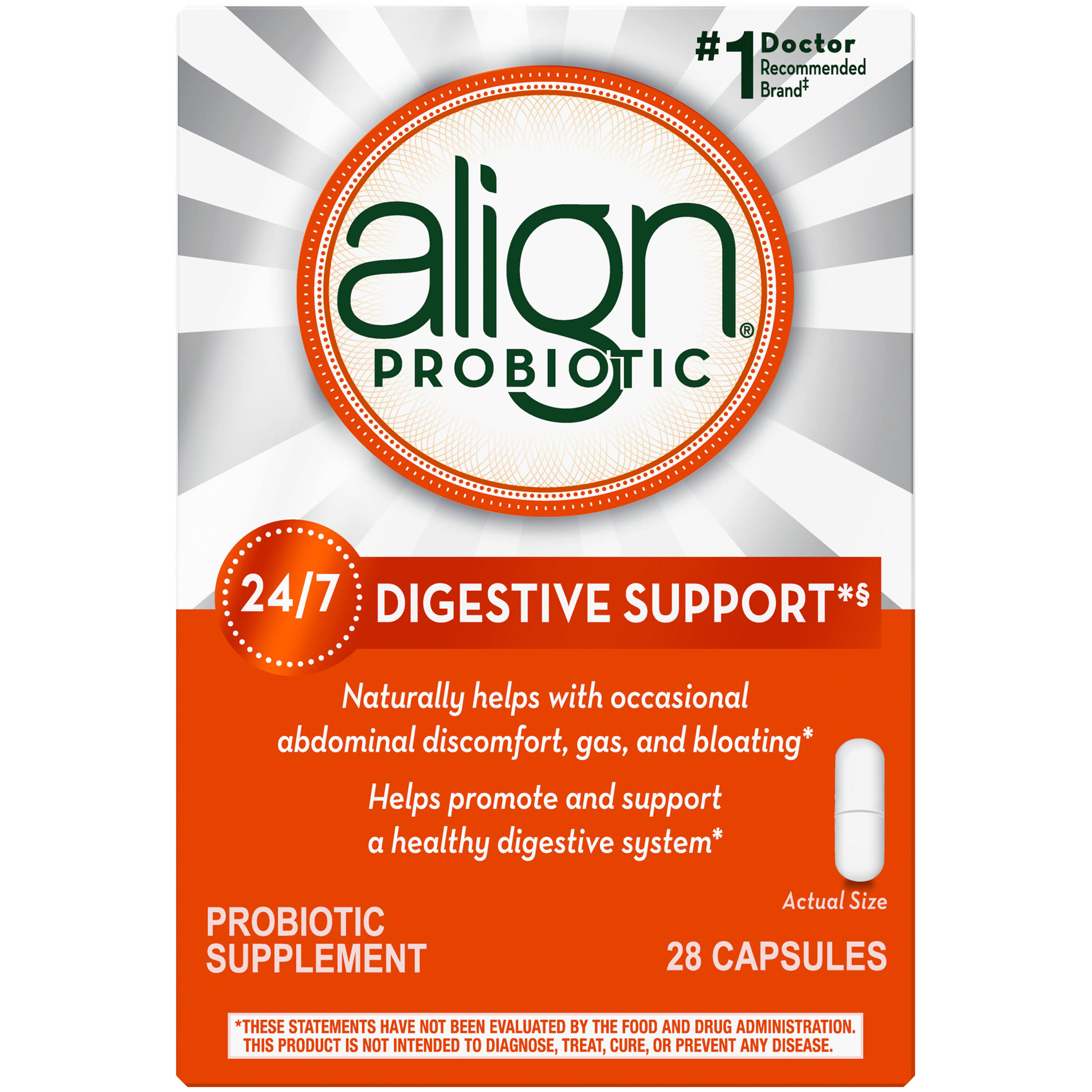 Align Digestive Care Probiotic Supplement - 28 Count