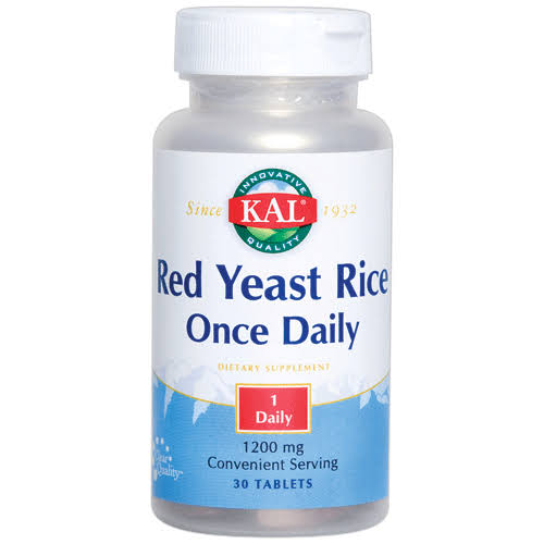 Kal Red Yeast Rice Once Daily 30 Tabs
