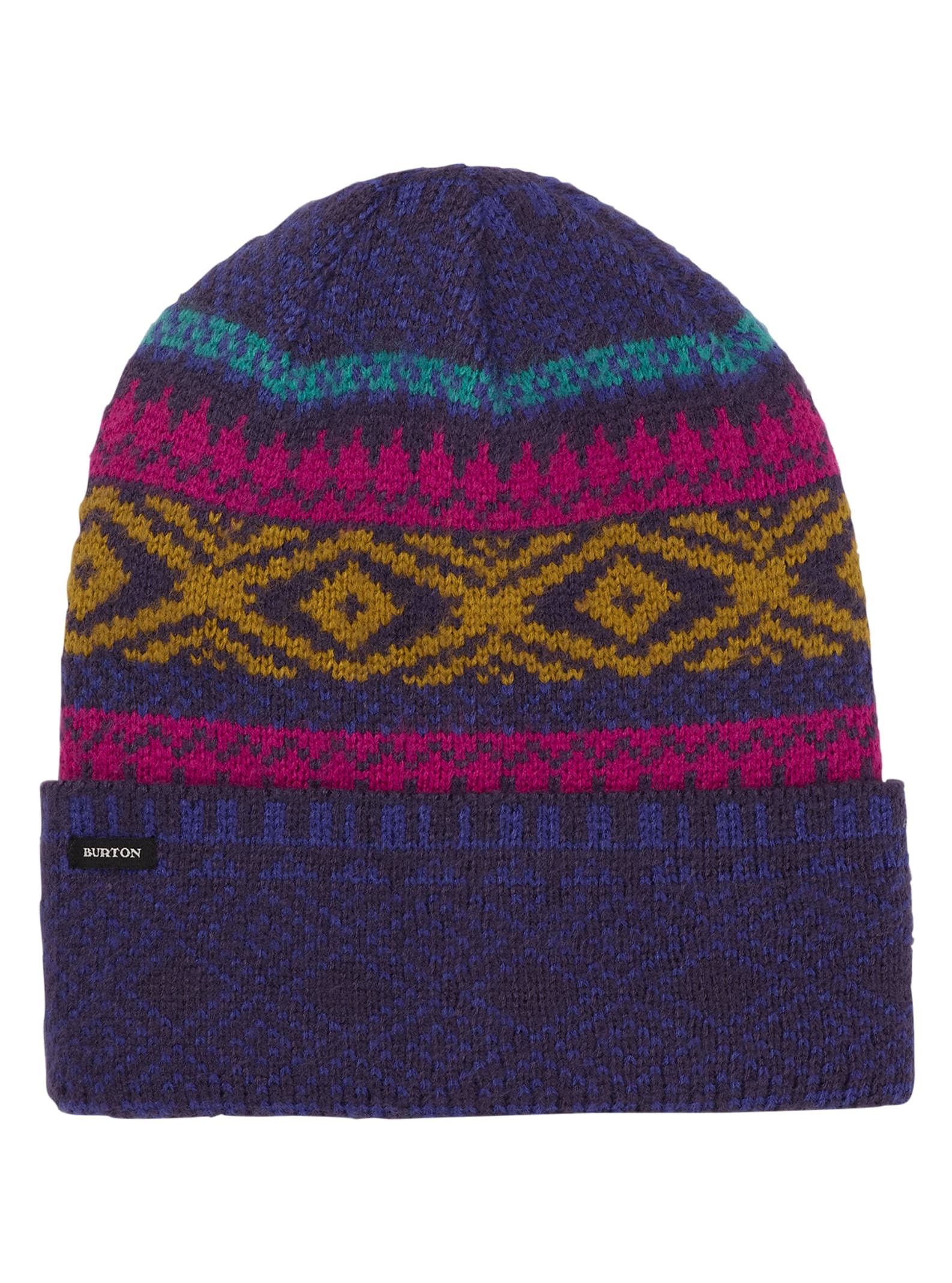 Burton Women's Edgeworth Beanie, Purple Velvet, 1SZ