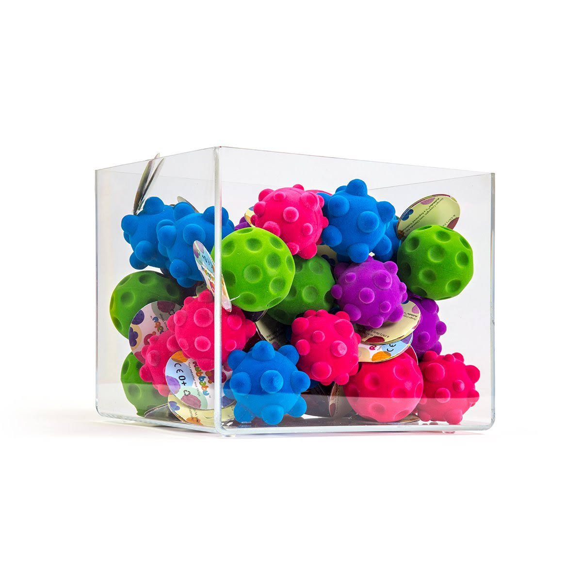 "Rubbabu 2.5"" Mini Fidget Balls Assorted Styles"