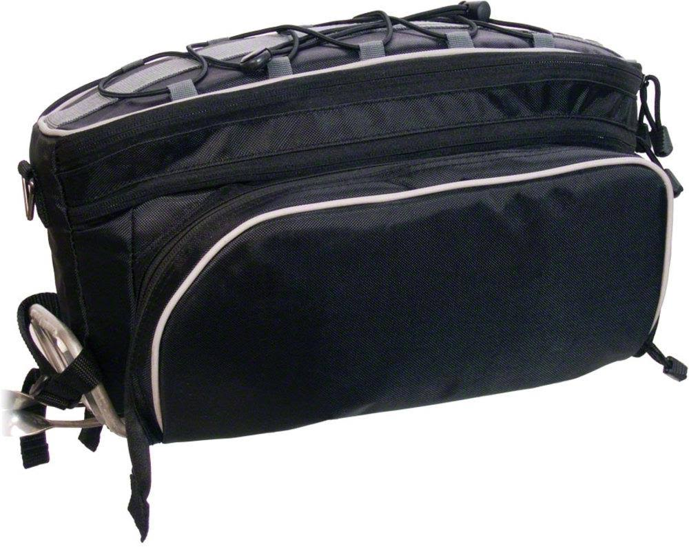 Banjo Brothers Rack Top Pannier Bag - Black
