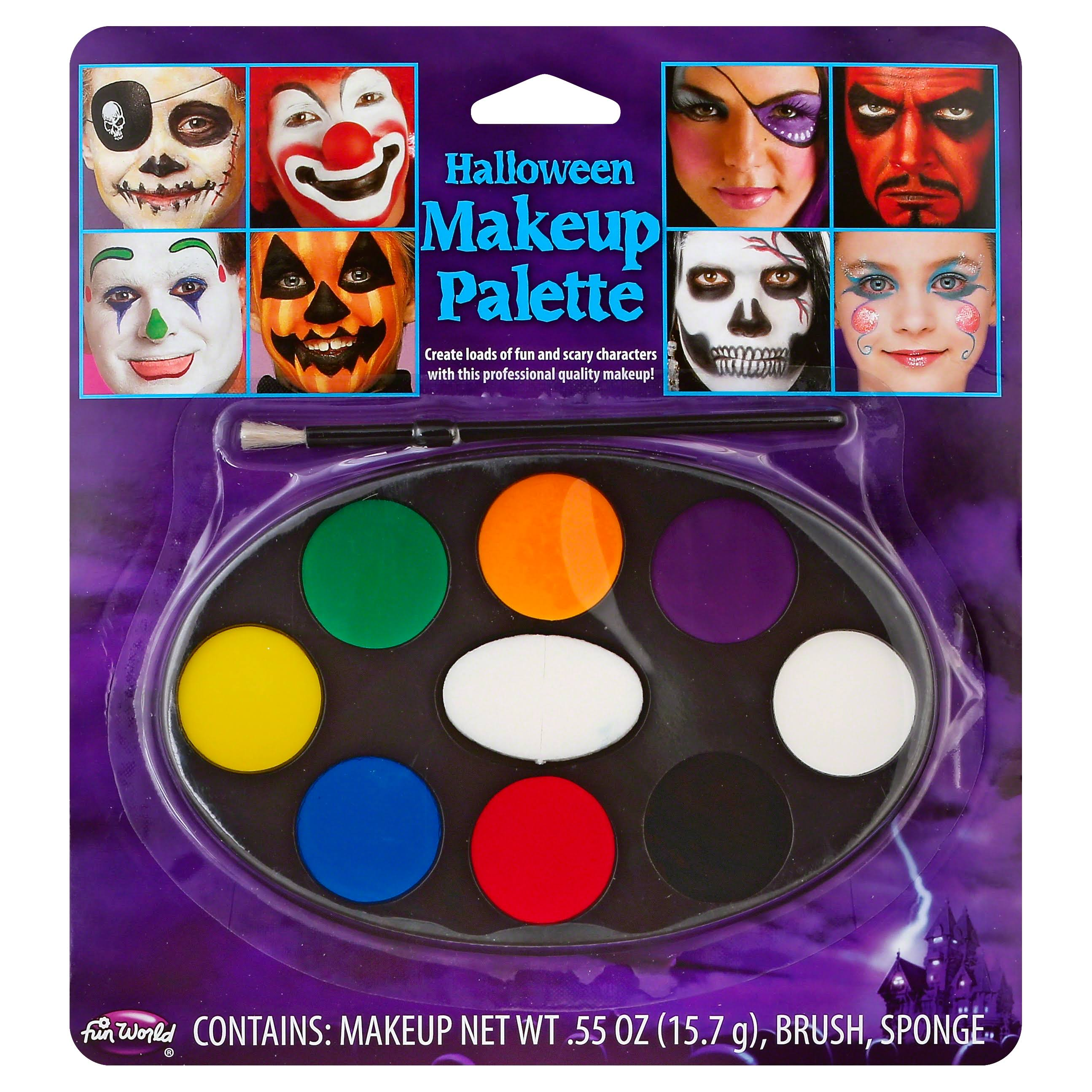 Halloween Kids Makeup Tray - 8 Colors