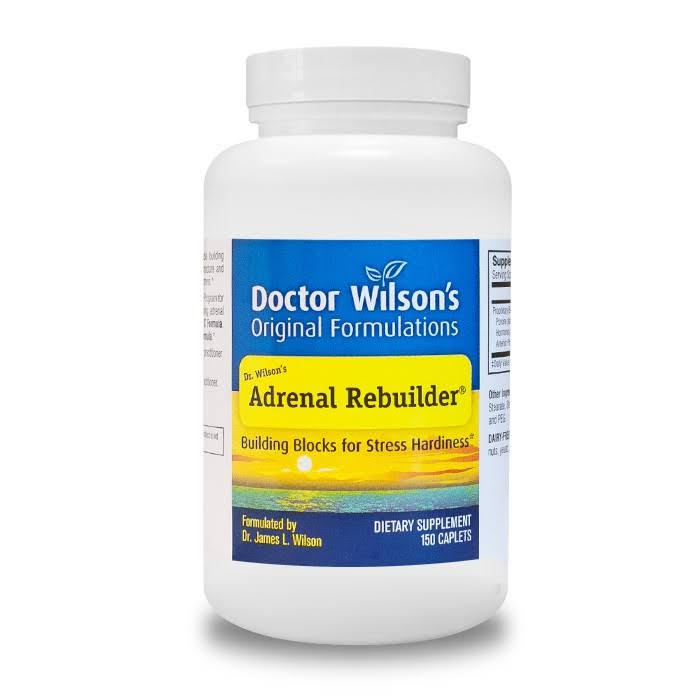 Dr Wilson's Original Formulations Adrenal Rebuilder Dietary Supplement - 150 Capsules