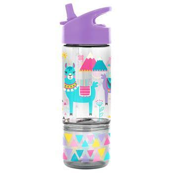 Stephen Joseph Llama 8 oz. Sip and Snack Bottle
