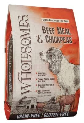 Sportmix Wholesome Grain Free Beef & Chickpeas Dog Food 35lb