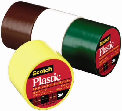 Scotch Plastic Colored Tape