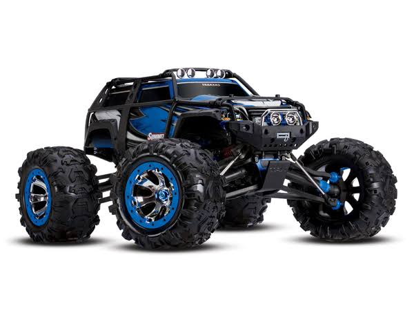 Traxxas 1/10 Summit 4WD RTR Monster Truck w/TQi Blue