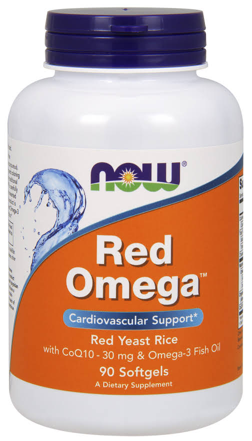 Now Foods Red Omega - 180 softgels