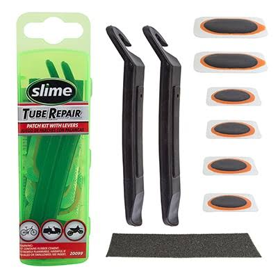 Slime 20099 Bike Patch Kit with Levers