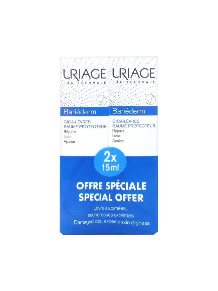 Uriage Bariéderm Lip Balm 2x15ml