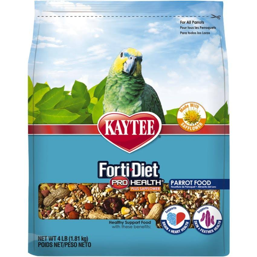 Kaytee Forti-Diet Pro Health Safflower Parrot Food - 4lbs