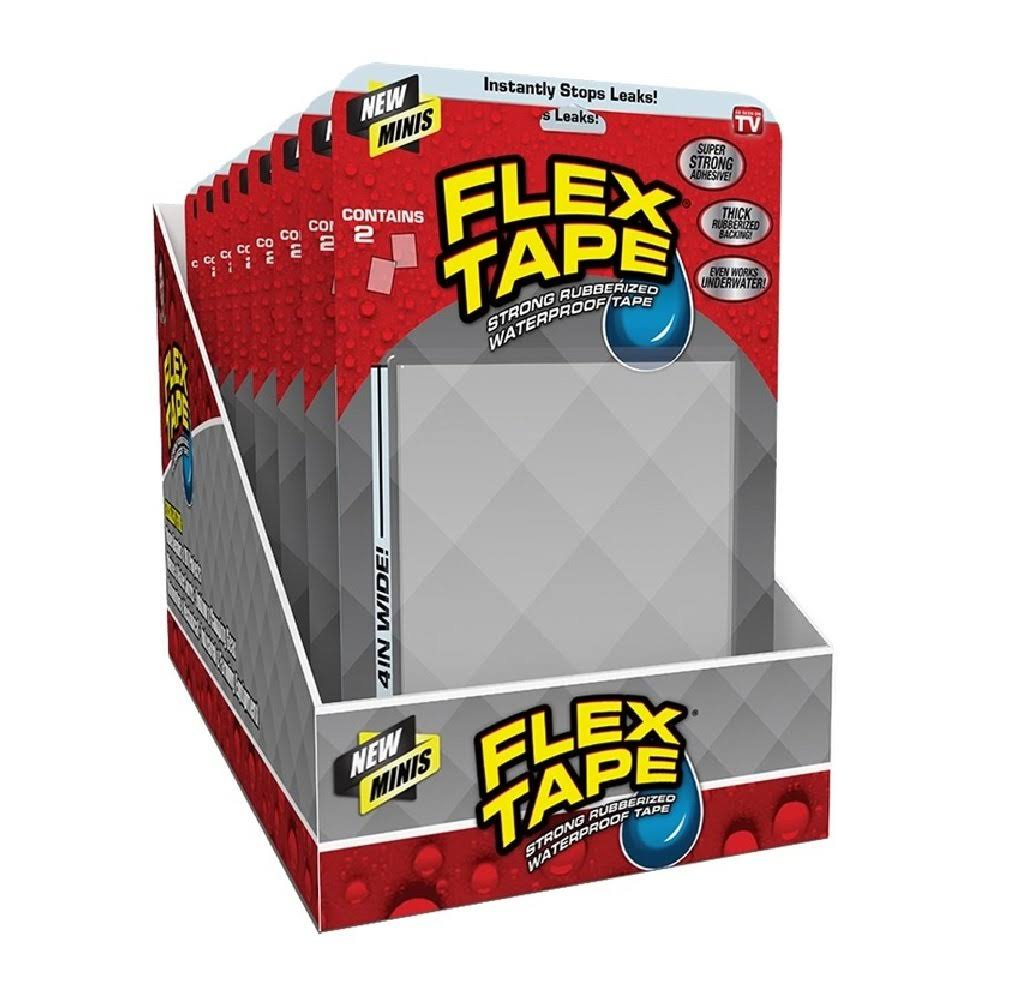Flex Seal Flex Tape, Minis - 2 tapes