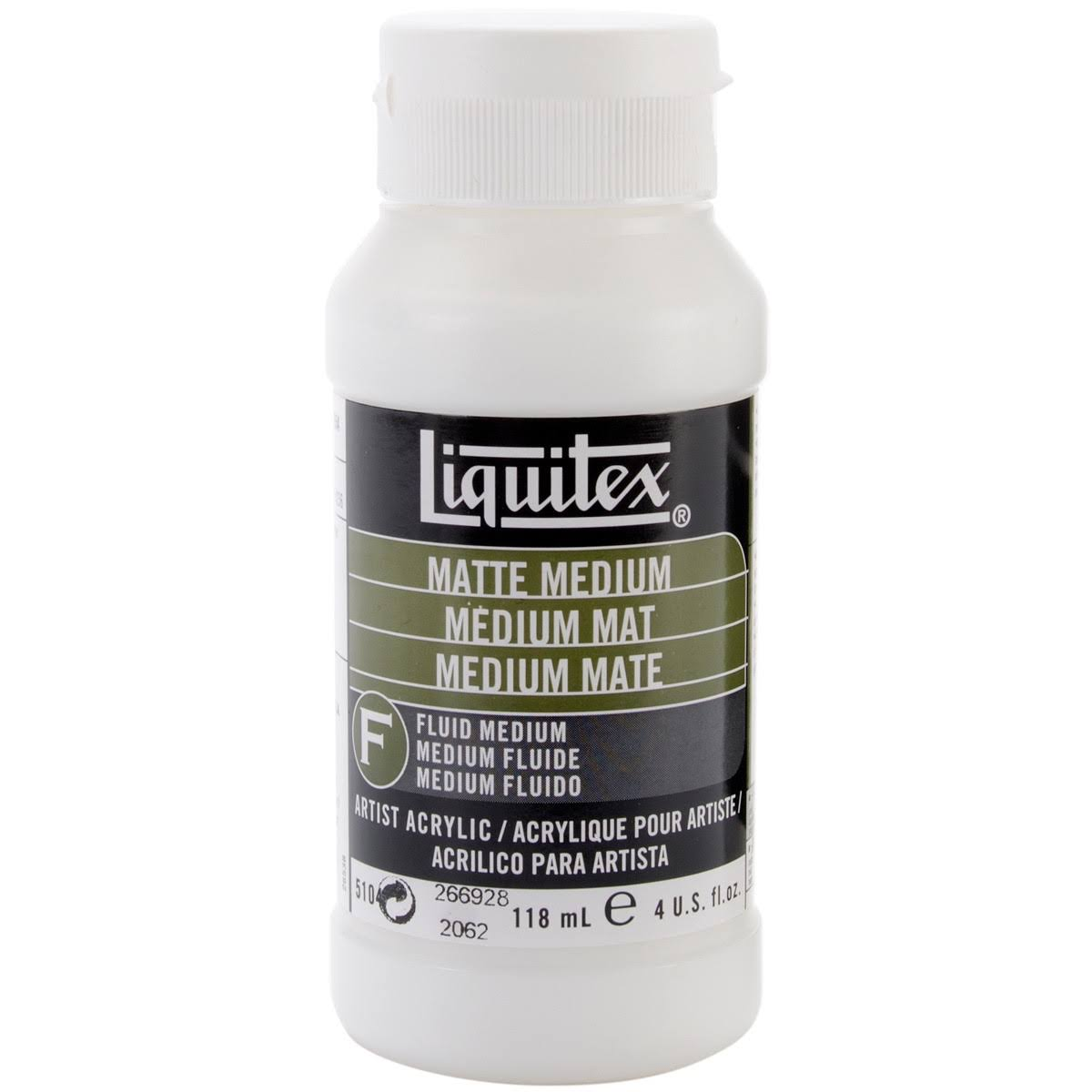 Liquitex Matte Acrylic Fluid Medium 4oz