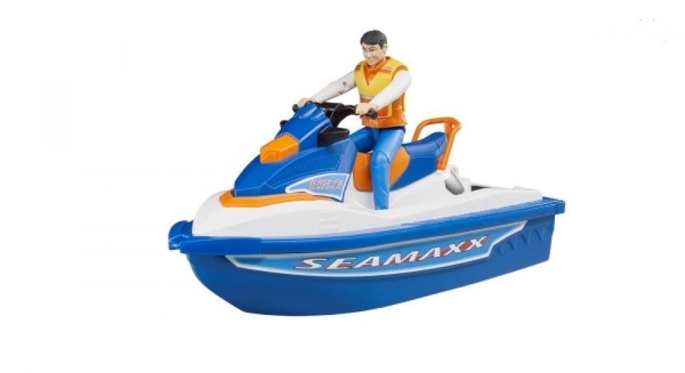 Bruder 63150 Personal Water Craft with Driver Vehicles - Toys