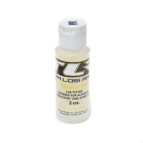 Team Losi Racing Tlr74016 Silicone Shock Oil, 80 WT, 2 oz