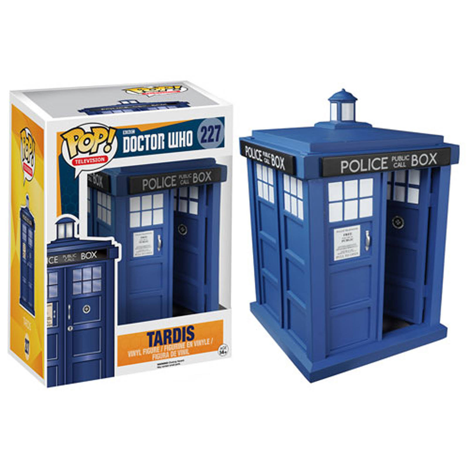 "Doctor Who Tardis 6"" Pop! Vinyl Figure"