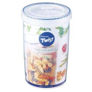 Lock & Lock Easy Essentials Twist 44-Ounce Food Storage Container
