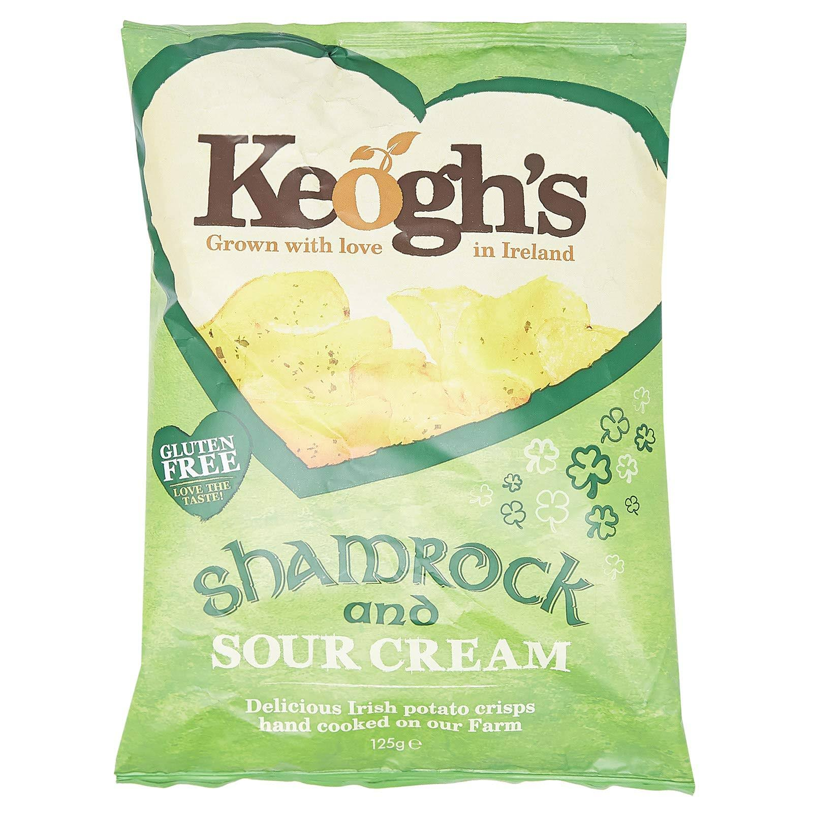 Keogh's Crisps - Shamrock & Sour Cream